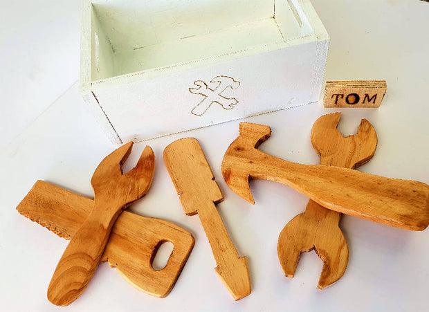 Wooden Toys | Kids Tool Set | Wooden Tool Set For Kids | DSS Handmade