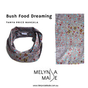 MelyndaMade Adult Infinity Scarf - Bush Food Dreaming