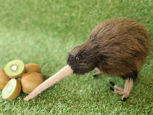 *SALE* Knitted Kiwi Toy