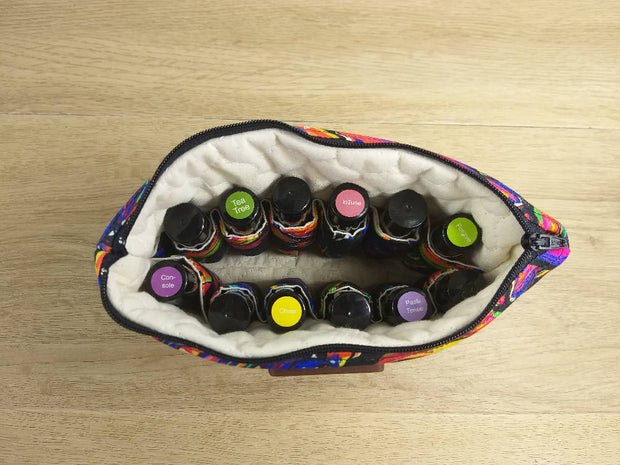 Bright Monstera Essential Oil Bag