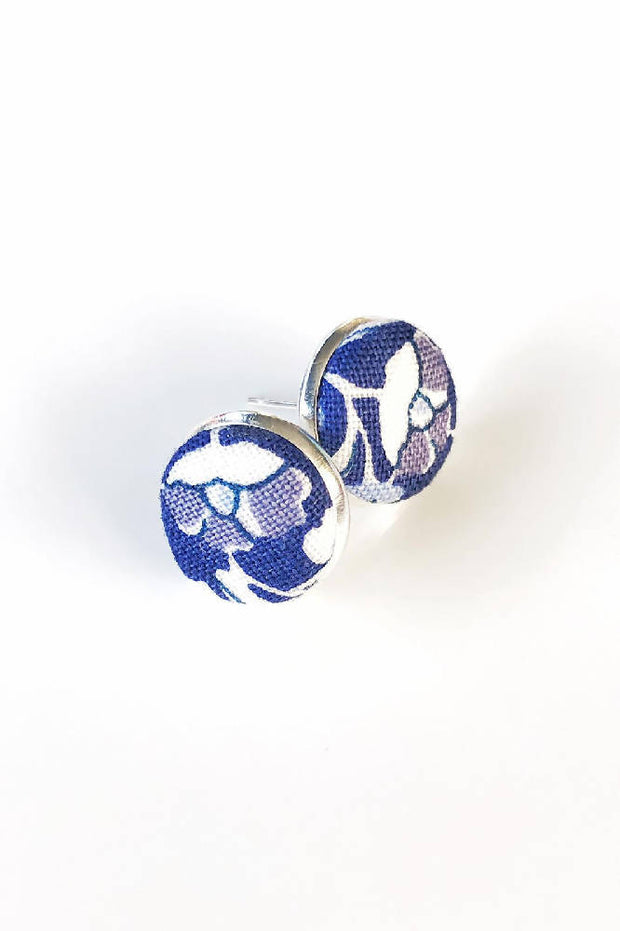 Liberty London Blue Studs