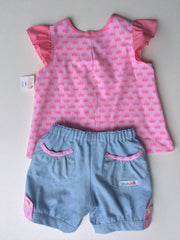 SPECIAL Princess Swing Top and Shorts Set