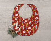 Christmas Baby Bib - Aussie Treats