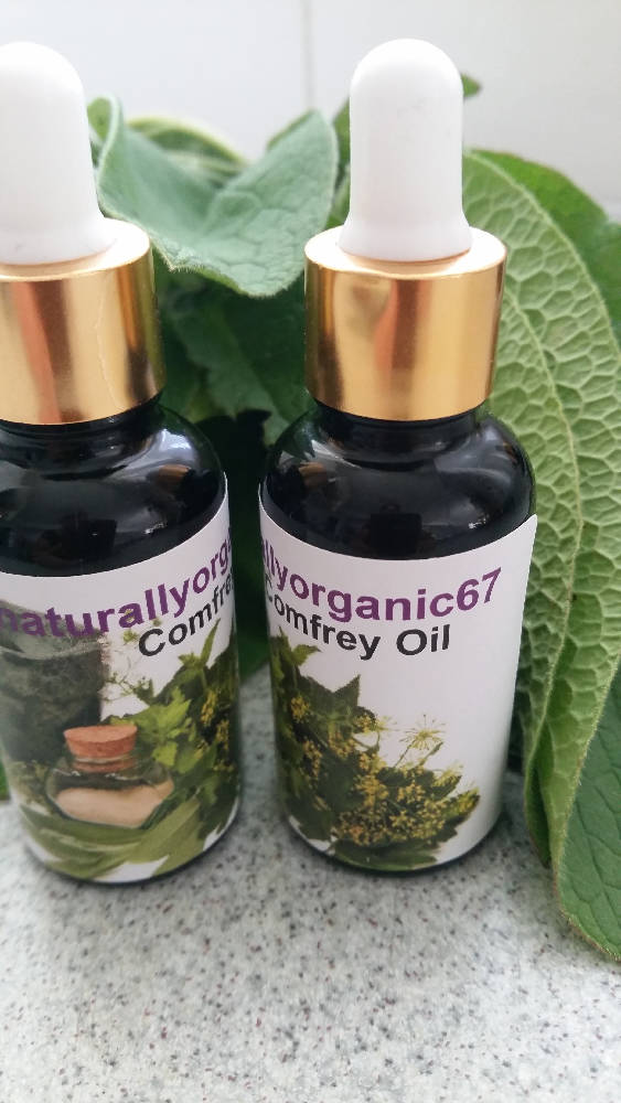 Comfrey Oil 60mls, VEGAN