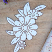 Cute wooden cut outs - Flower Posy & Letters
