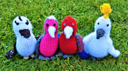 Australian Knitted Bird Collection | Animal Plush Toys | DSS Handmade