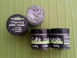 3X Purify Mattify Clarify Charcoal Peel Mask