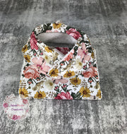 Aurora Bib/Burp cloth set
