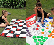 Checkers and Chinese Checkers Board Game | Outdoor Games |DSS Handmade