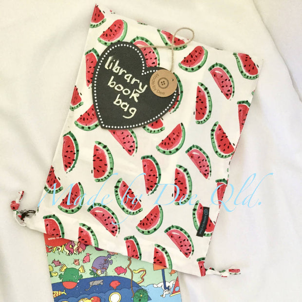 Drawstring Bag - WATERMELON