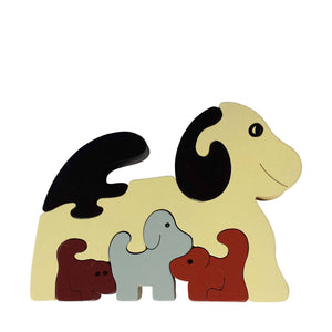 Dog Wooden Animal Puzzle