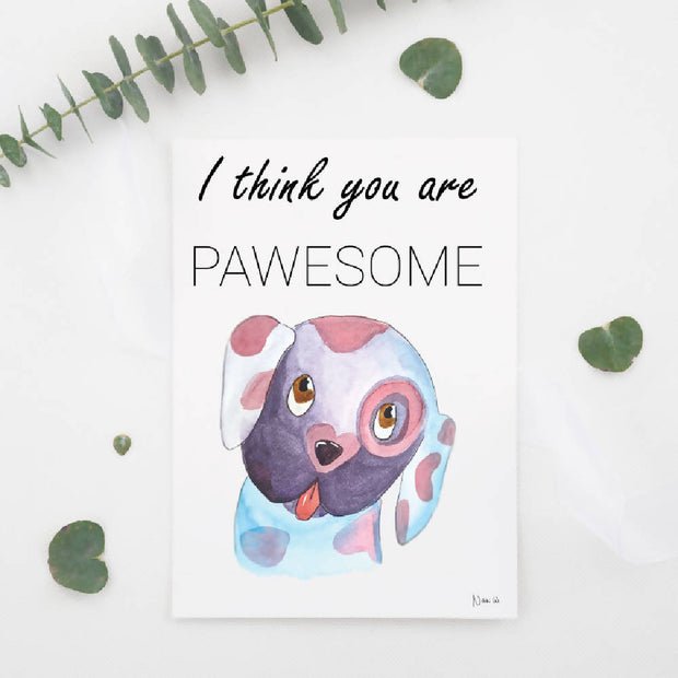 PREORDER - Set of 4 adorable Valentine's Day Cards & 50% profit donated to Aussie animal rescue organisation!