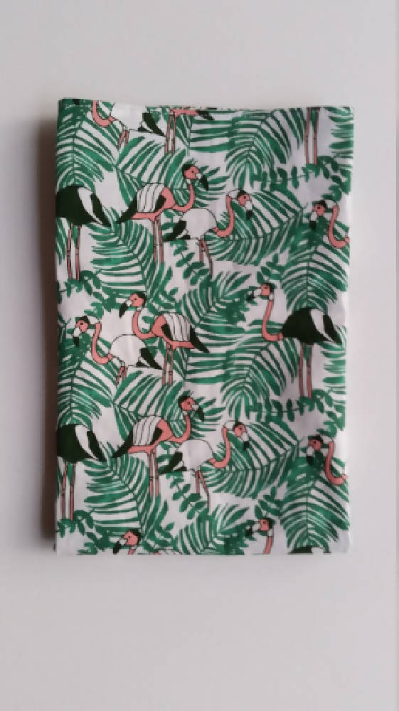 Flamingos in Tropic - Tea Towel
