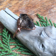 Smokey Quartz Ring - size 7