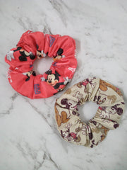 Story Books and Characters Scrunchies