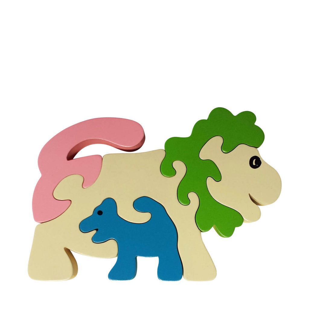 Lion Wooden Animal Puzzle