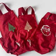 Embroidered Christmas Rompers