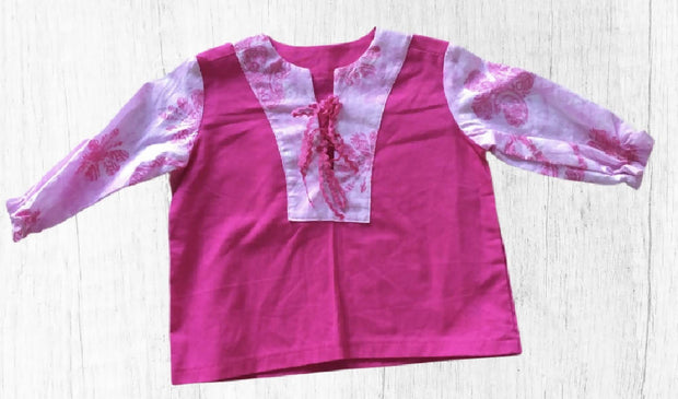 SPECIAL~ Girl Cotton Top, One off, Size 2