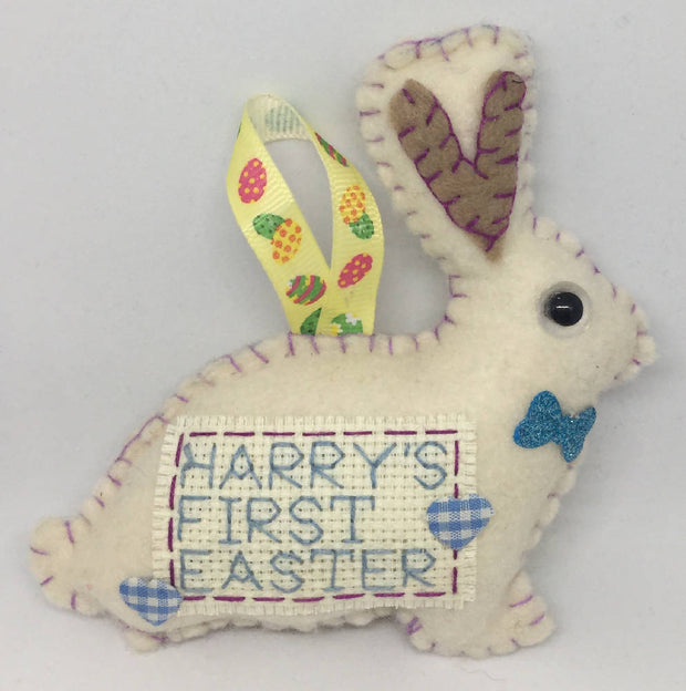 First Easter bunny keepsake