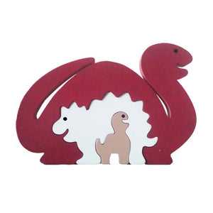 Dinosaur Wooden Animal Puzzle