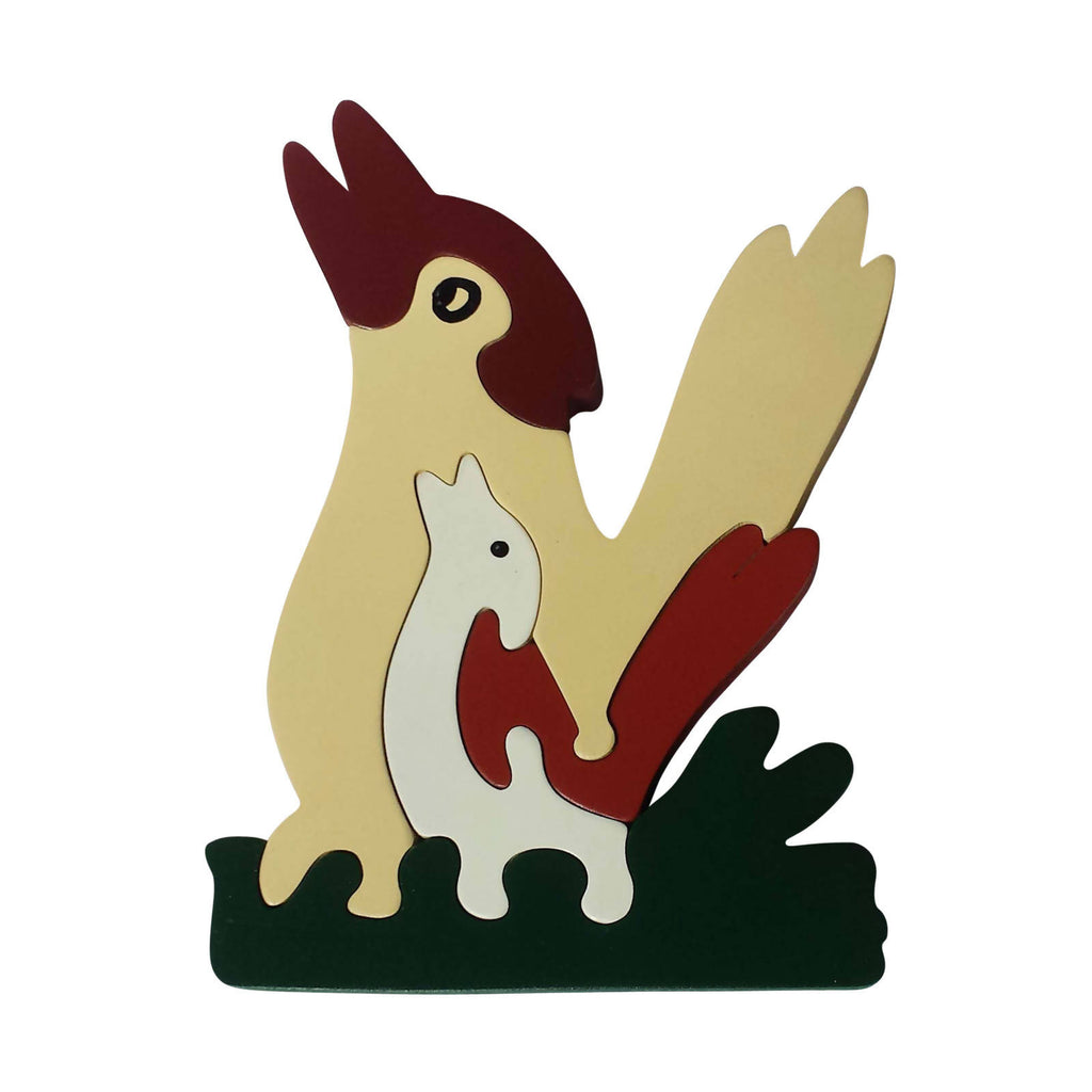 Kookaburra Wooden Animal Puzzle