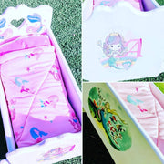 Doll Cot Bedding Set for Imaginative Fun Pretend Play | DSS Handmade