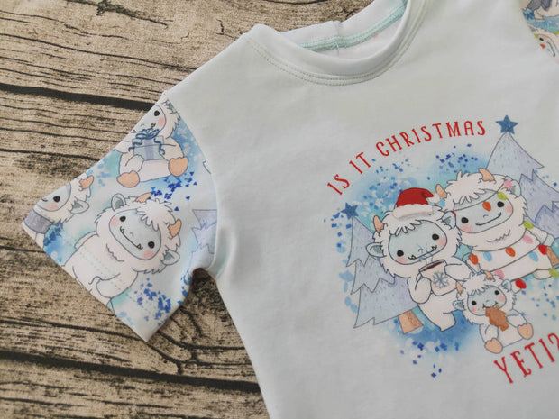 Christmas Tshirt, it is Christmas Yeti tshirt