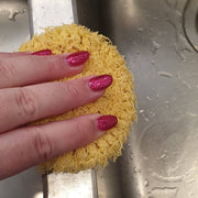 CLEANING SCRUBBIES - YELLOW