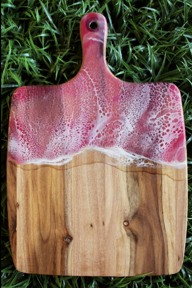 Resin Art Serving Board