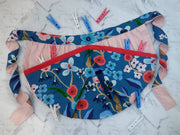 Peg Aprons in Cotton and Up-cycled fabrics