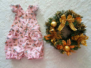 Baby Girls Christmas Romper
