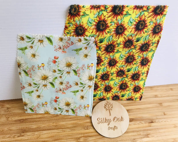 Reusable Beeswax Pouches