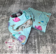 Oceania Bib/Burp cloth set