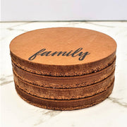 Wooden Drink Coasters