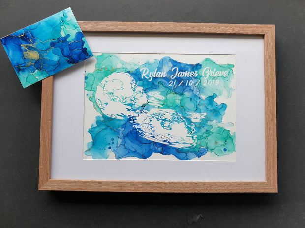 Ultrasound Art Frame and Gift me