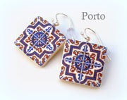 Azulejos Portugueses Earrings