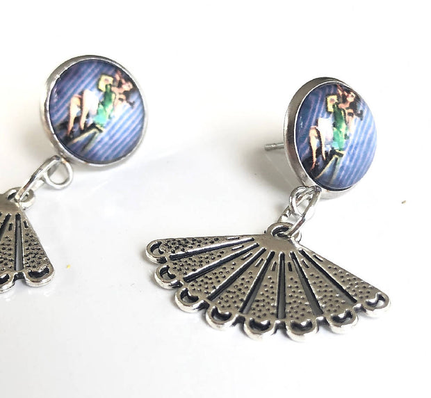 Bettie L'amour Rockabilly Earrings
