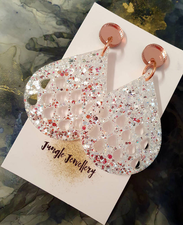 Raindrop Earrings - Wedding Whisper