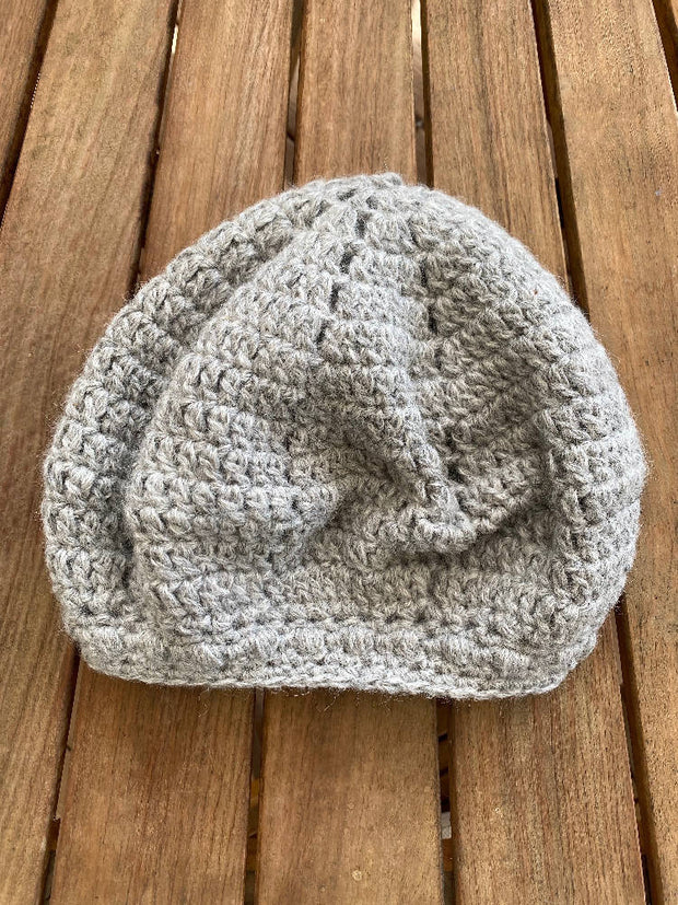 Ladies Hand Knitted Beret / Beanie