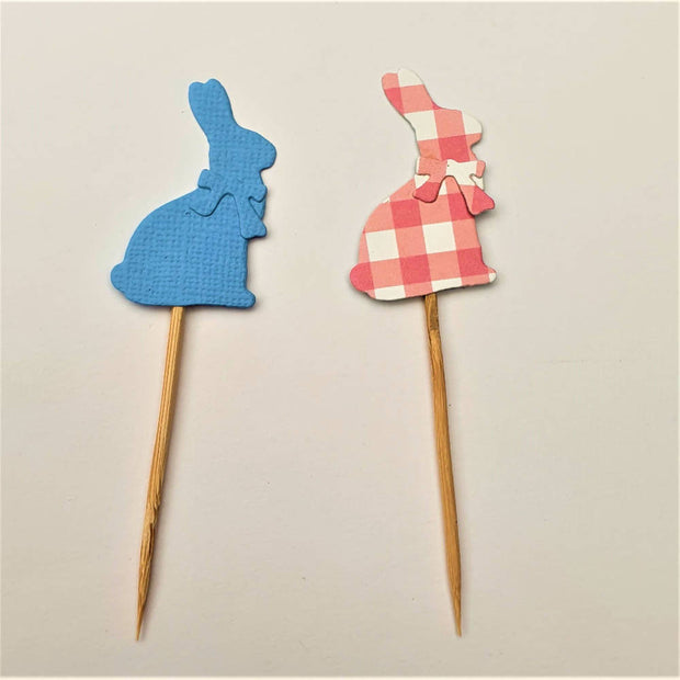 Easter Cupcake Toppers - Party Decor