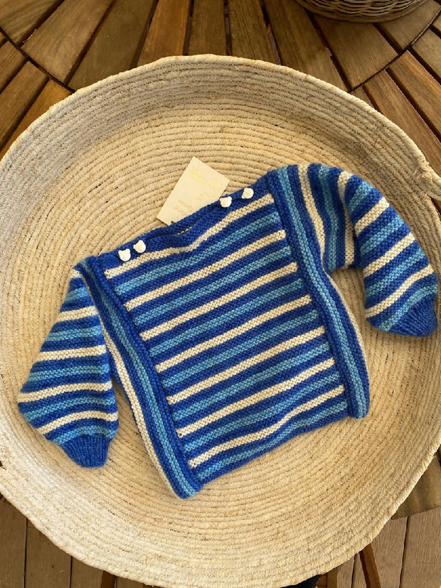 Childs hand knitted jumper
