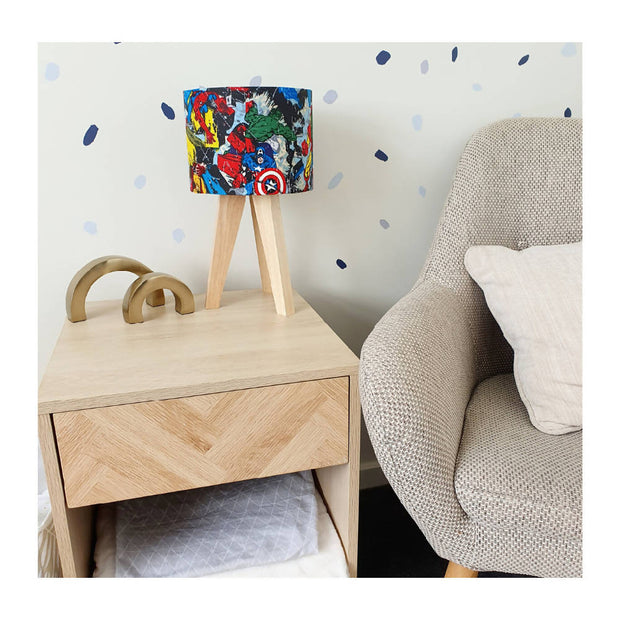 Childrens Lamp | Comic At Heart