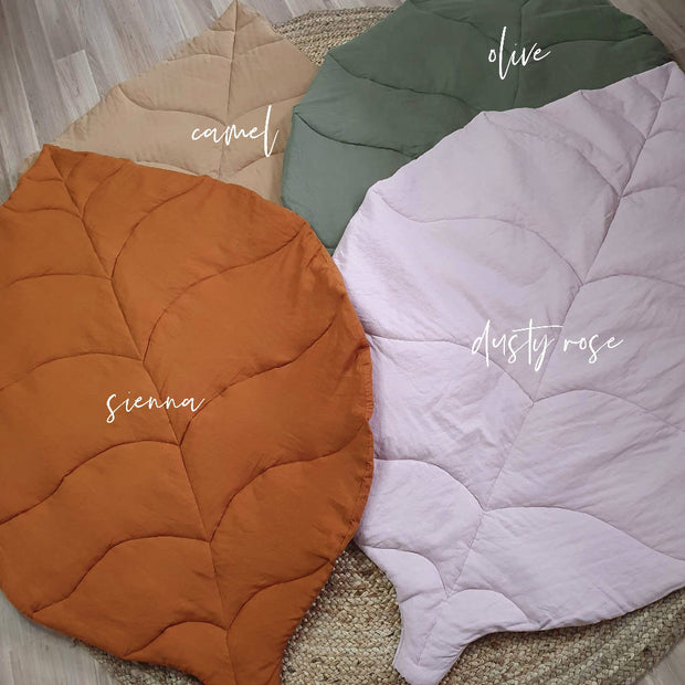 Leaf Playmat Olive