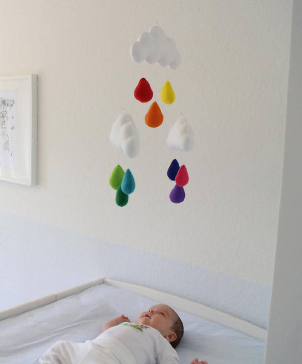 Cloud mobile -multicoloured-