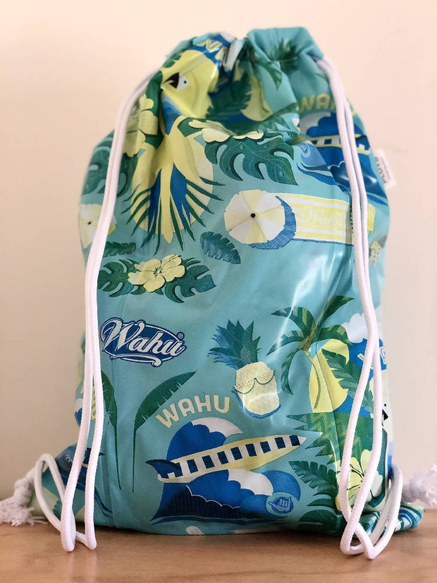 Swim bag or Sports bag (pull cord) - recycled pool inflatables