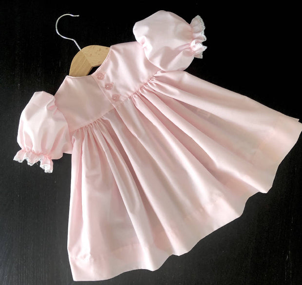 Hand Smocked Baby Dress - 3 months - various colours