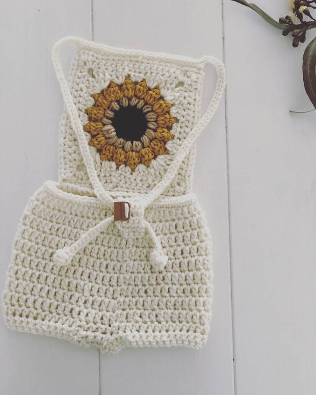 Sunflower Romper -
