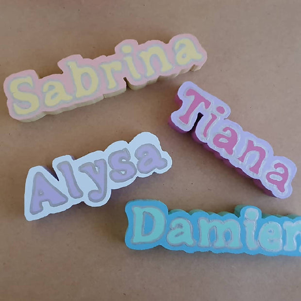 Wooden Name Magnet