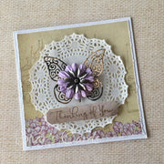 Vintage style Thinking of You card
