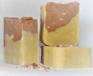 clay, coconut cream and salt spa bar